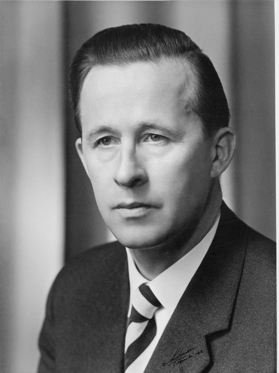 postmester, Nilsen Evald, portrett