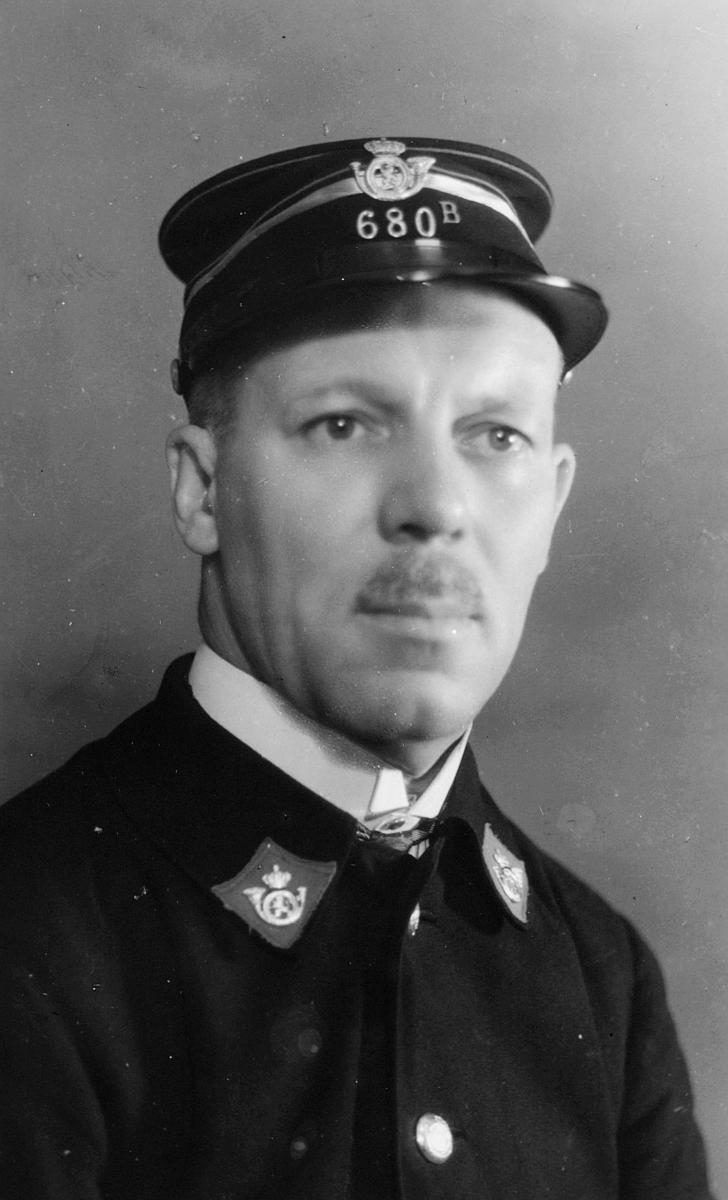 uniform, Belgisk postbuduniform