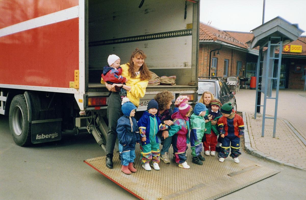 markedsføring, diverse, postgård, Jessheim, barnehavebesøk