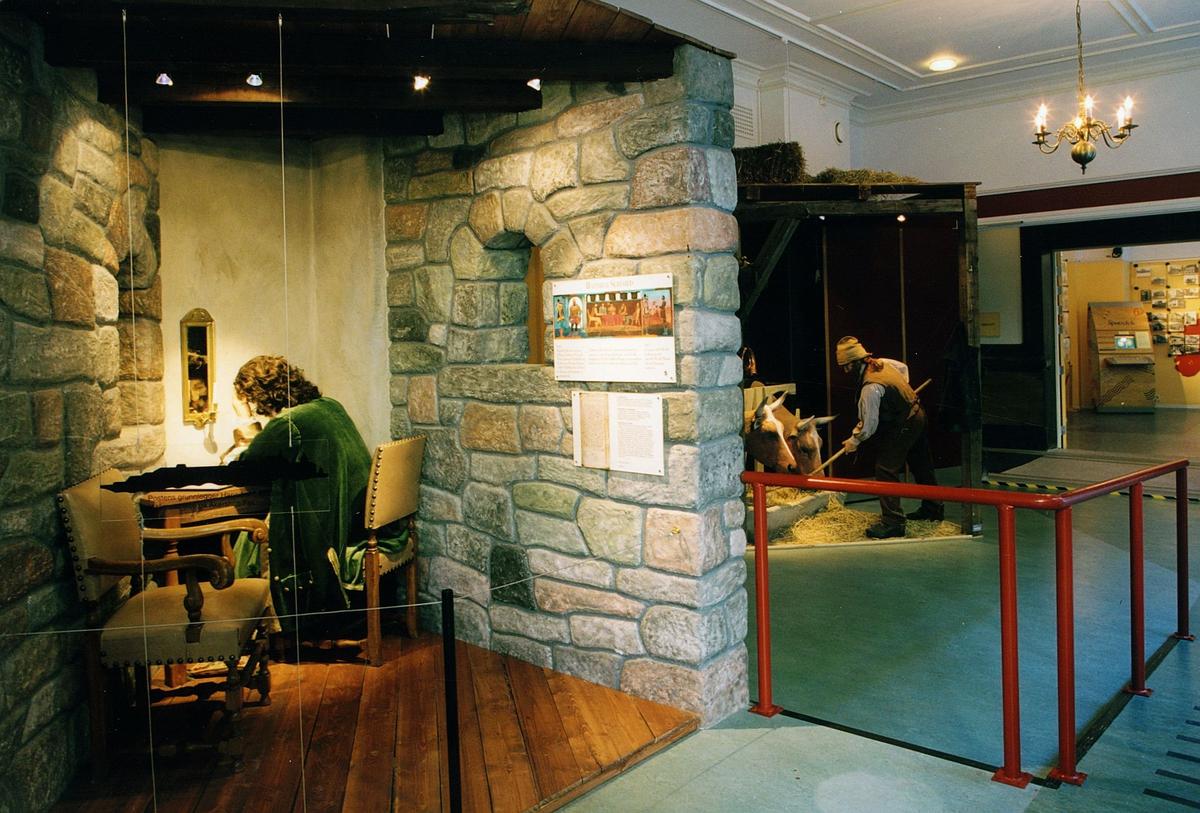 Postmuseet, Kirkeg.20, Oslo, utstilling, Hannibal Sehested, postbonde, motivet finnes også på CD-rom PRO1, bilde nr 25