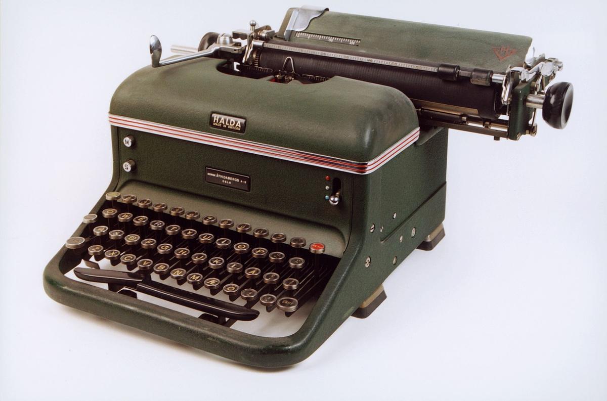 postmuseet, gjenstander, skrivemaskin, Halda