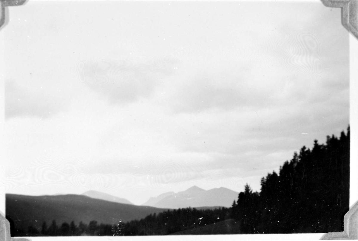 Landskap, fjell