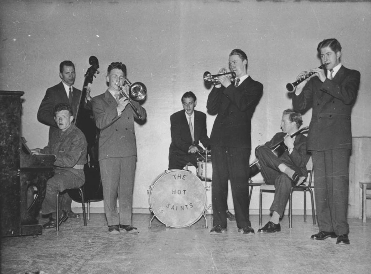 Jazz konsert ved The Hot Saints.