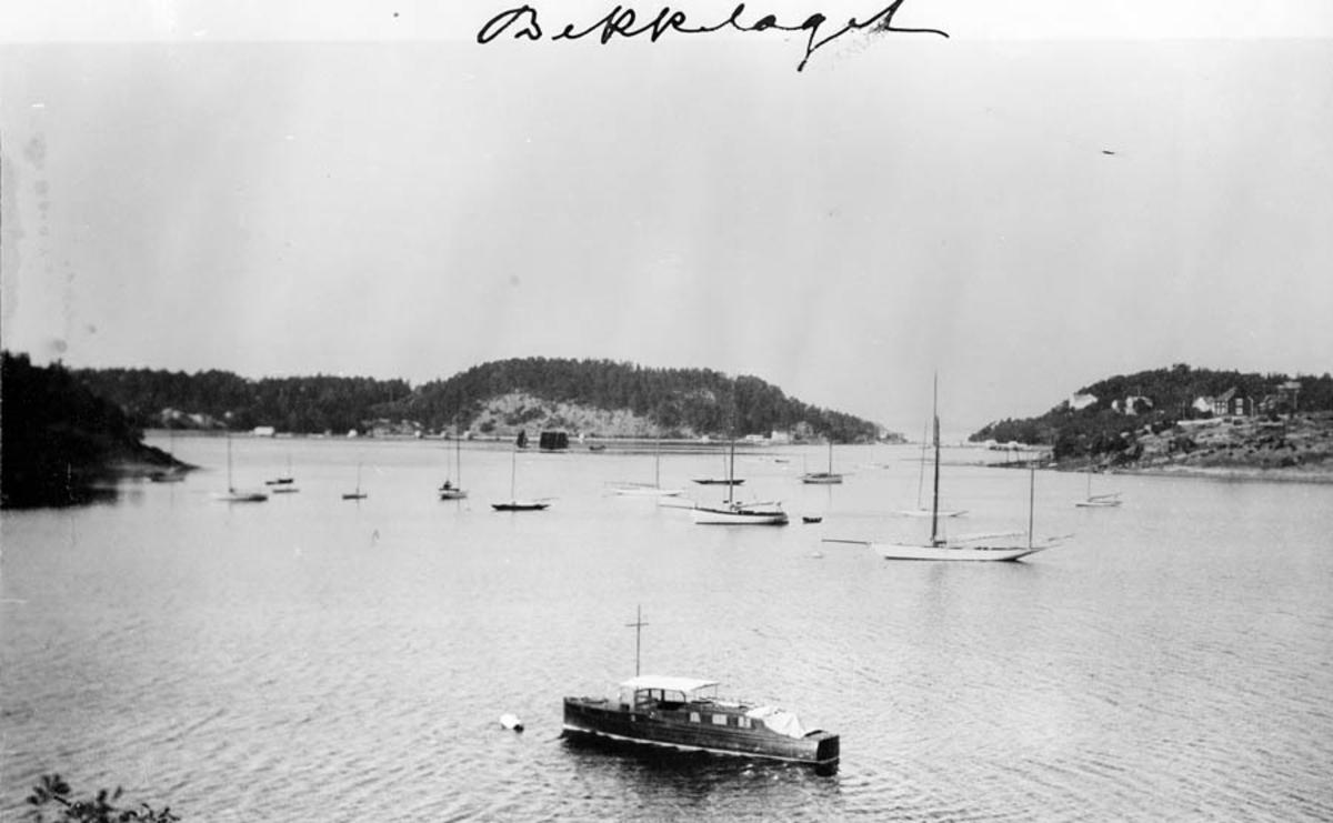 Utsikt over Oslofjorden mot Bekkelaget