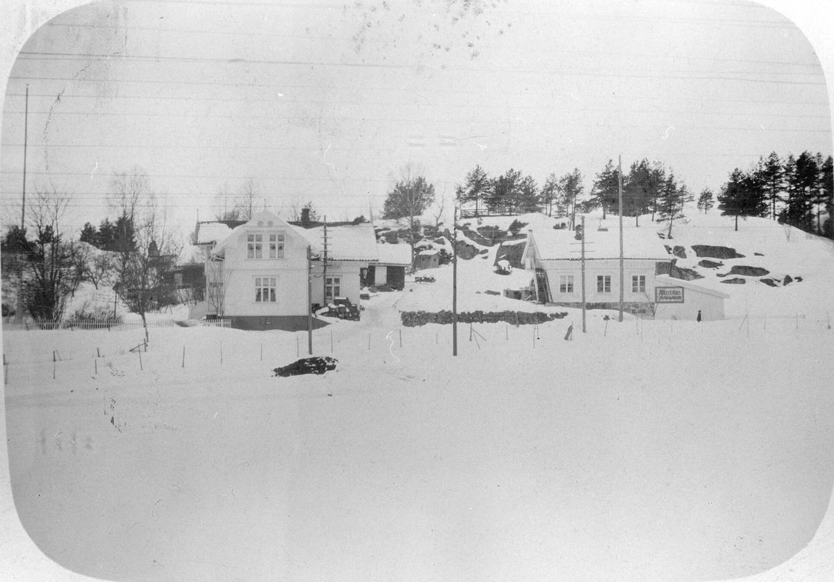 Vinterbilde av Høgda