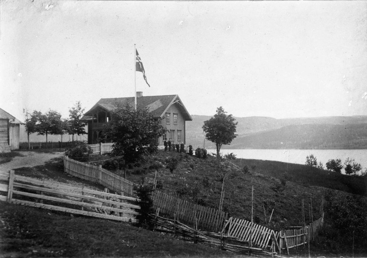 Gården til Christian A Trandum, Minnesund