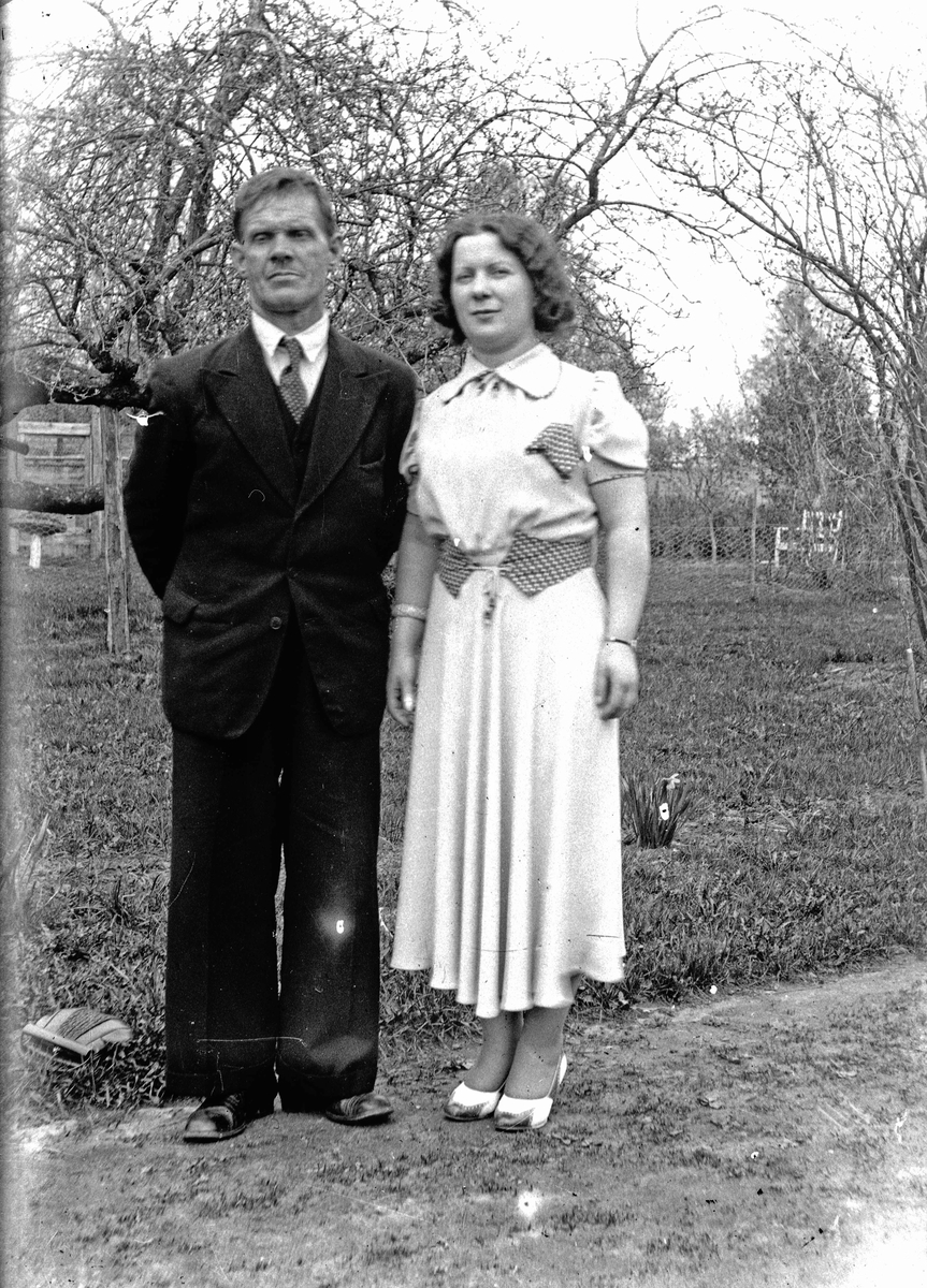 Johan Plassen og kvinne