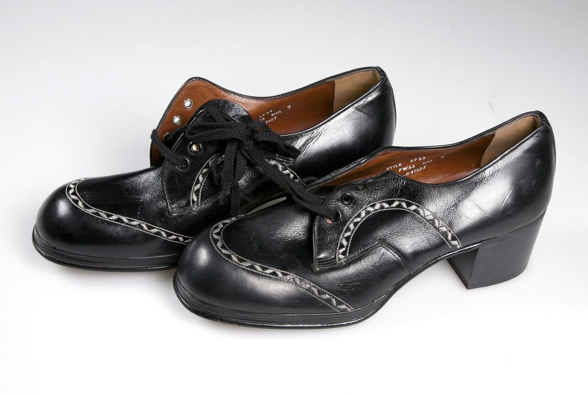 Sko.  Ubrukt, antagelig gave fra en av skobutikker.