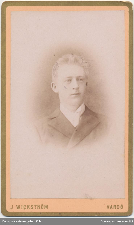 Portrett, Anton Emil Vinnan, ca. 1890-1895