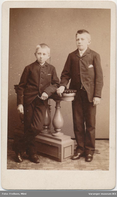 Dobbeltportrett, Gerhard og Hemming Lauritz Brodtkorb