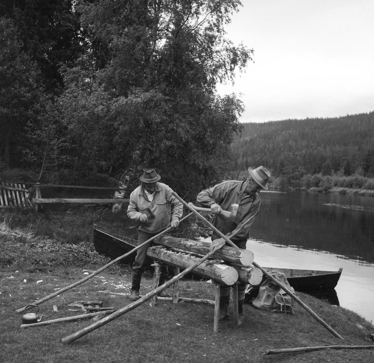 Tømmerfløting-Nying