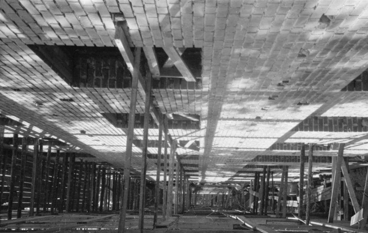 Lærerbygget i Elverum under bygging