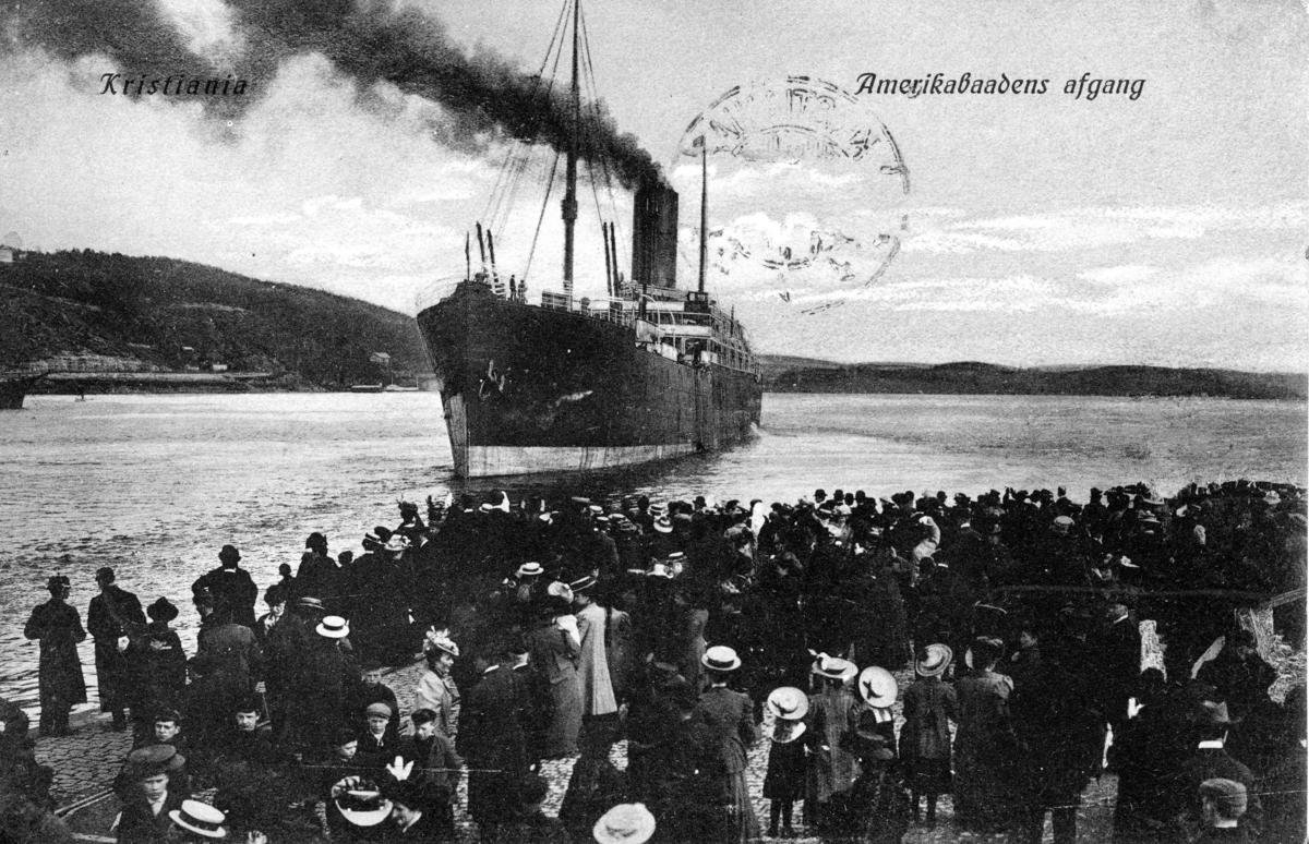 Amerikabåtens avgang