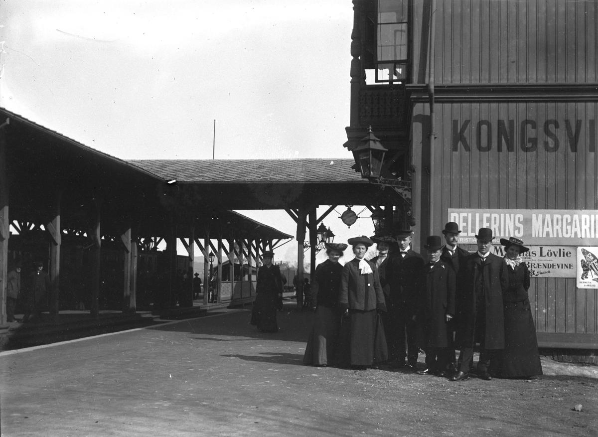 Jernbanestasjon