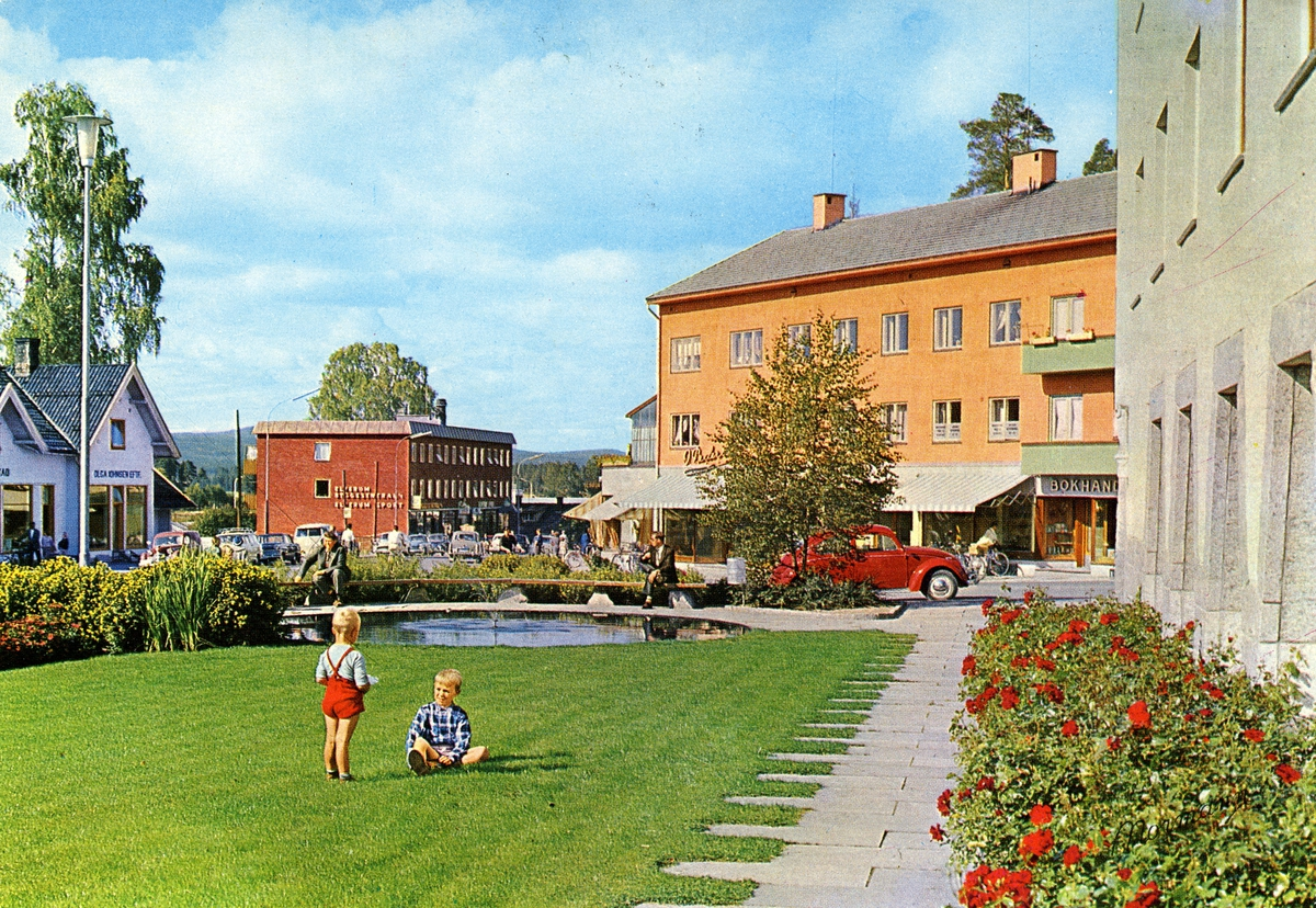 Leiret,Rådhusplassen