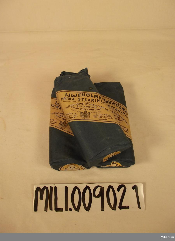 Liljeholmens prima stearinljus. 4 stycken paket med 6 ljus i.