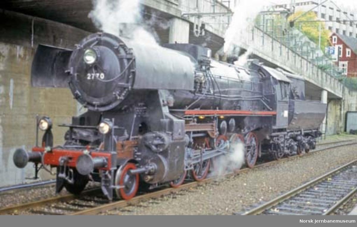 "Damplokomotiv type 63a nr. 2770 ""stortysker"""