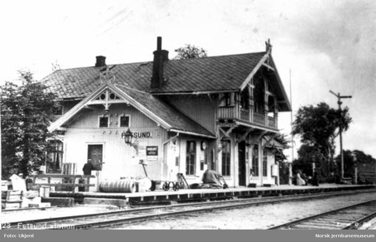 Fetsund stasjonsbygning
