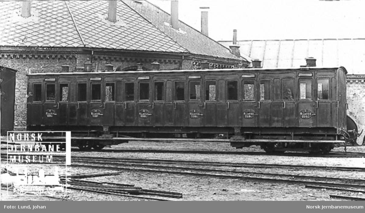 Vestfoldbanens personvogn litra Bo nr. 208