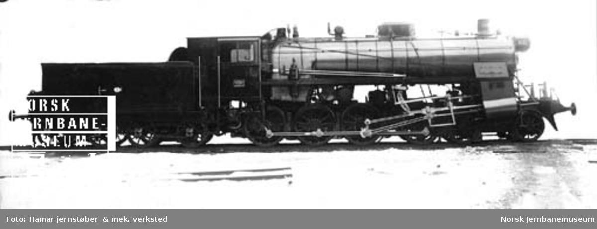 Leveransefoto av damplokomotiv type 26c nr. 414