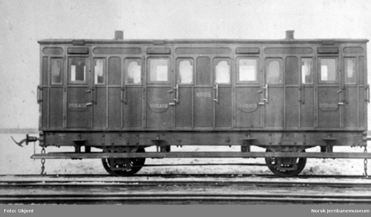 Drammenbanens personvogn litra AB nr. 108