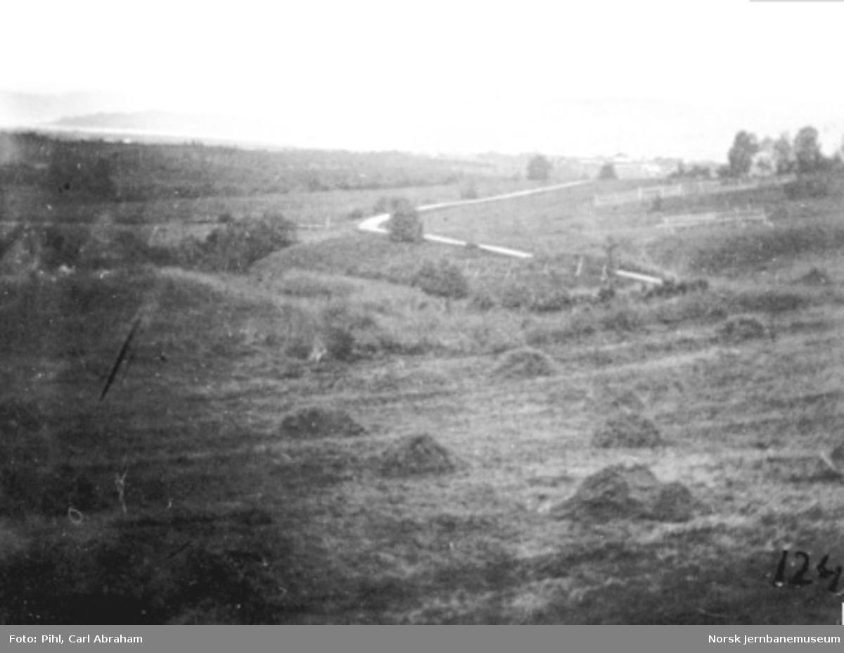 Utsikt mot Gaulosen fra Stokke (Nypan) stasjon