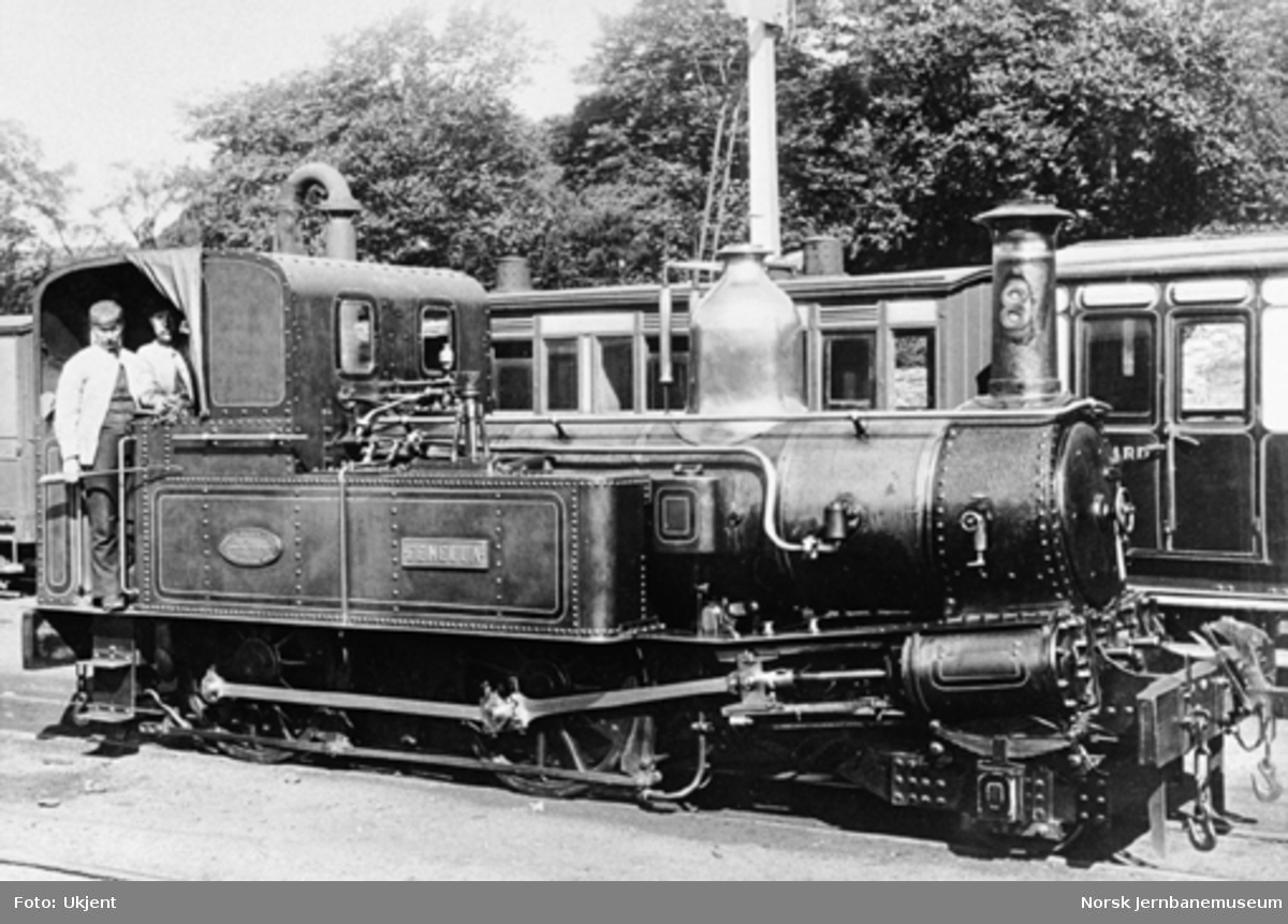 """Isle of Man Railway damplokomotiv nr. 8 """"Fenella"""""""