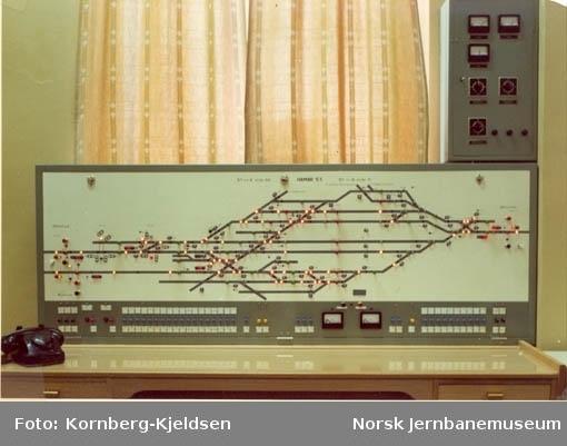 Sikringsanlegget på Hamar stasjon : stillerapparatet