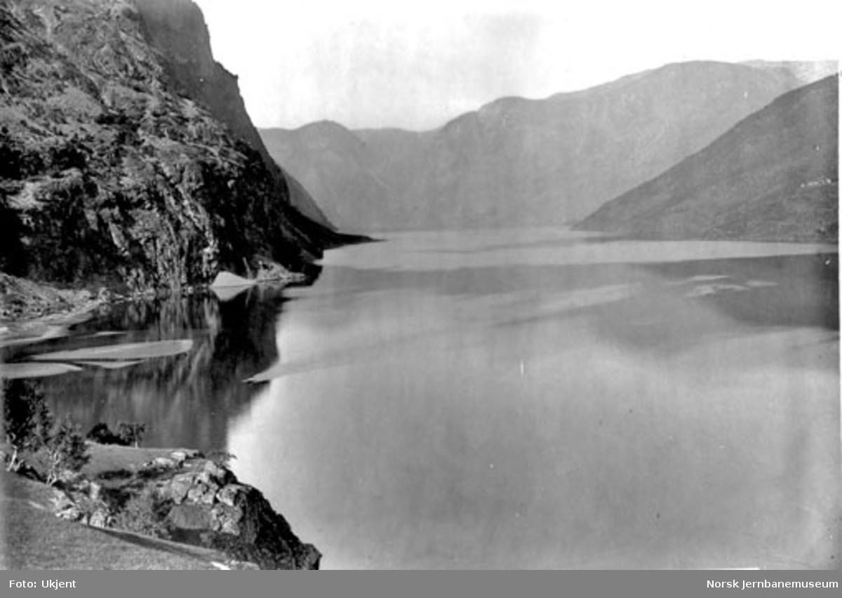 Aurlandsfjorden sett fra Øvre Fretheim