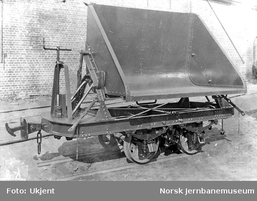 Kisvogn til Sulitjelmabanen på Skabo Jernbanevognfabrik