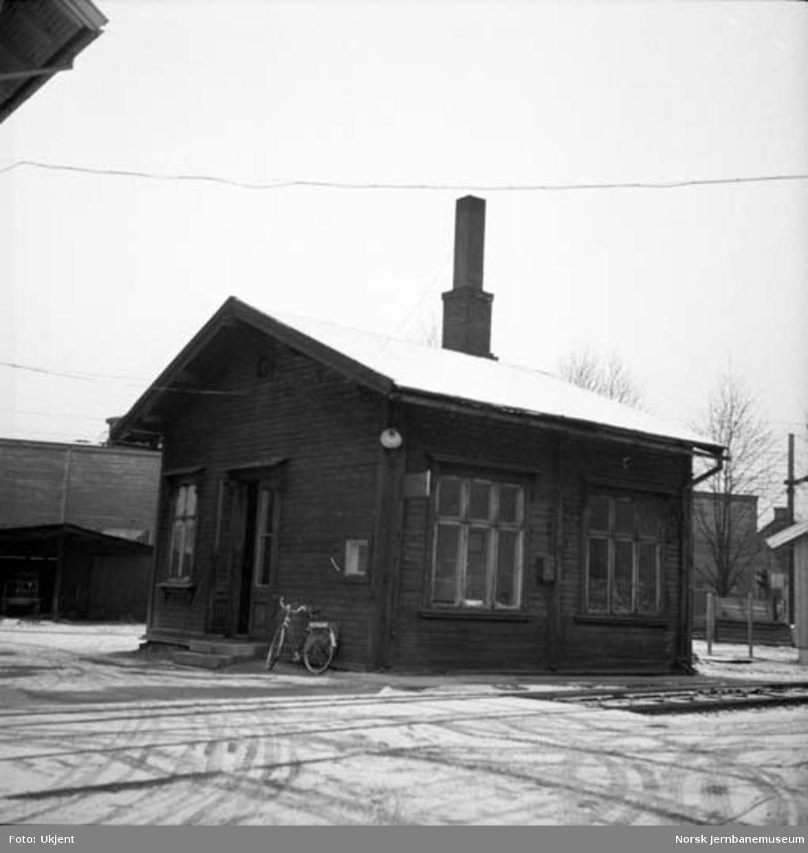 NSB Verkstedet Hamar : vakthuset