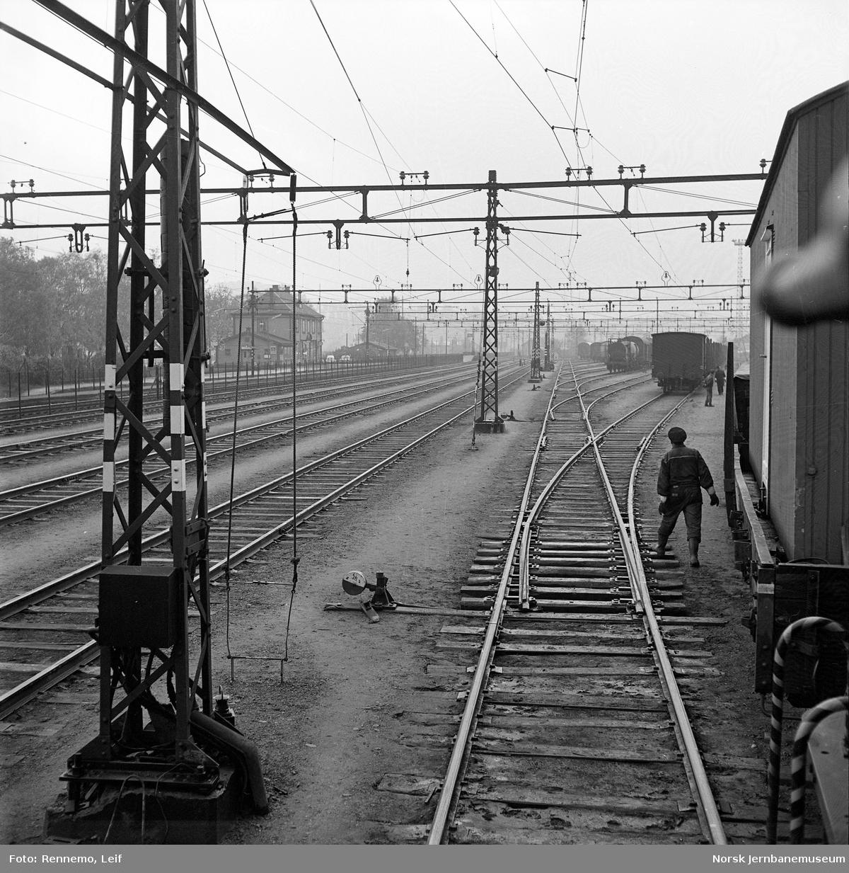 Skifting på Alnabru stasjon