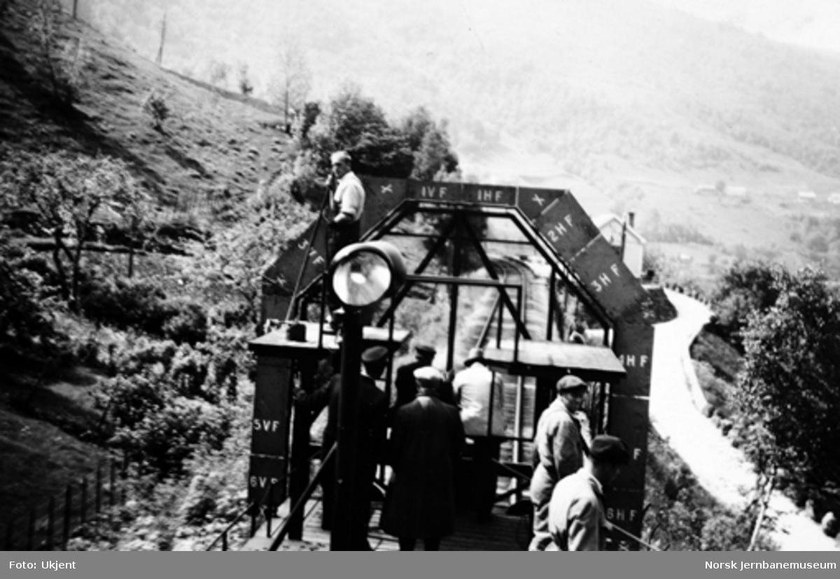 Kjøring av profilvogn på Bergensbanen