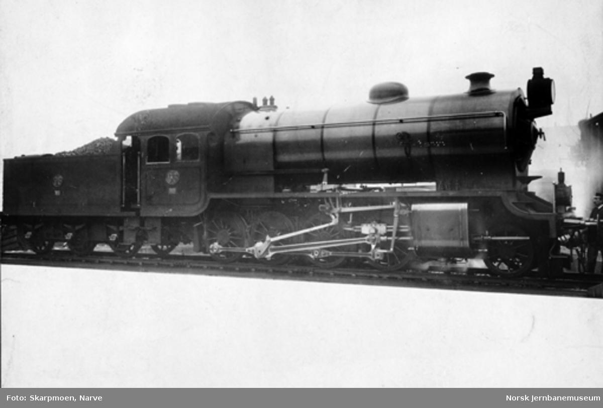 Hovedbanens damplokomotiv litra H nr. 96