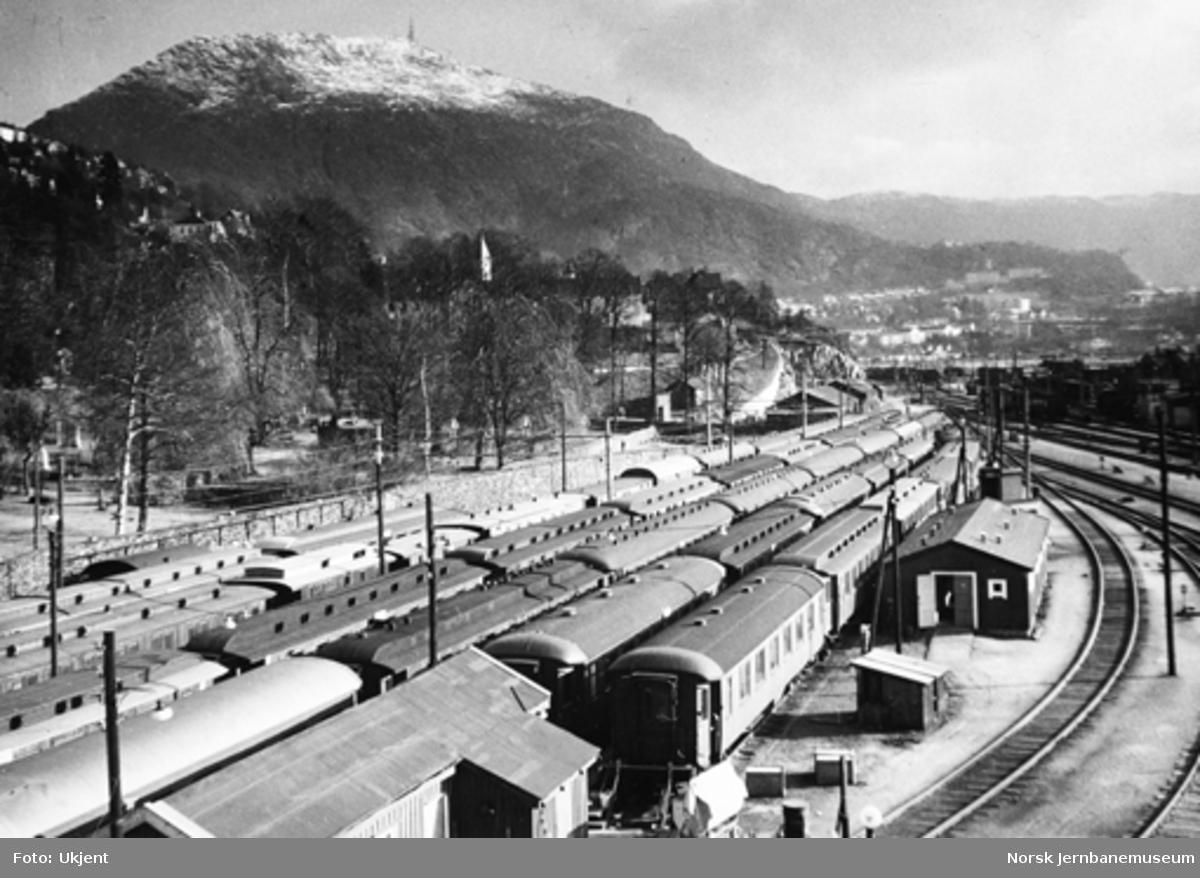 Driftsbanegården på Bergen stasjon