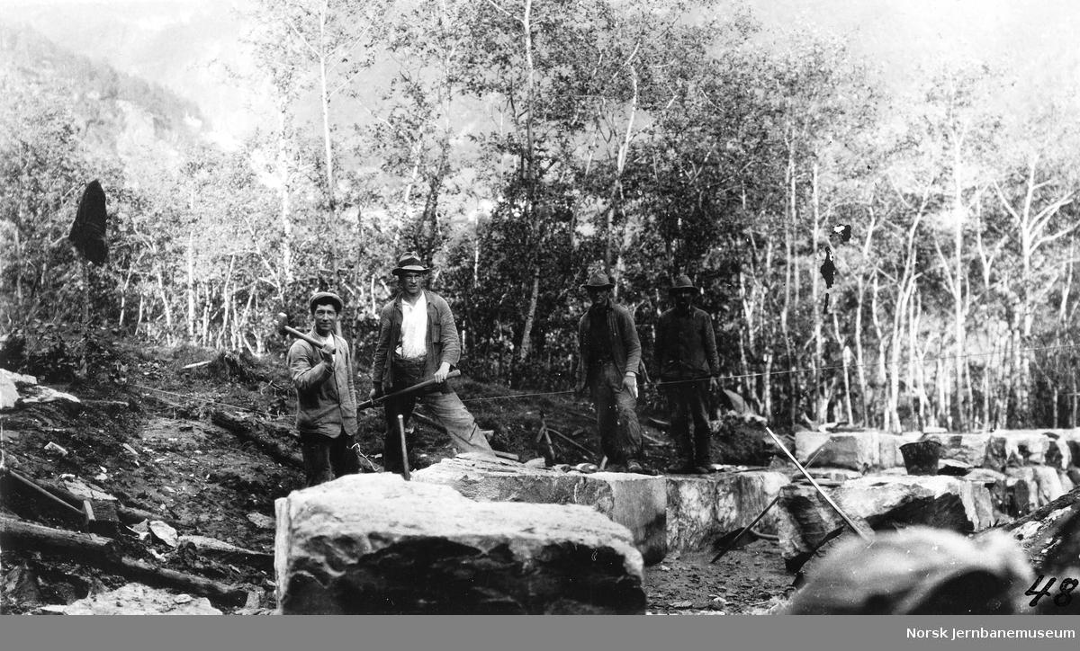 Stikkrenne ved pel 1895