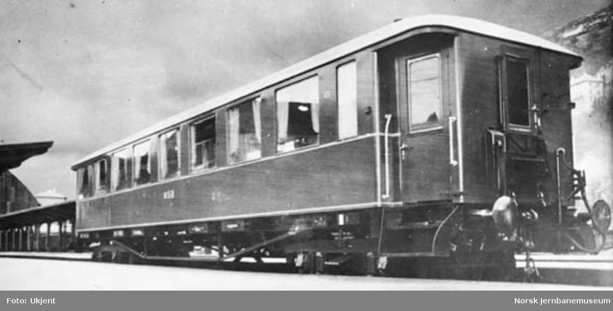 Personvogn litra Co3d nr. 451 til Hardangerbana