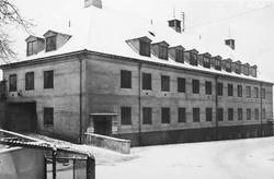Statsbanenes automobilavdelings garasje i Saxegaardsgate 11