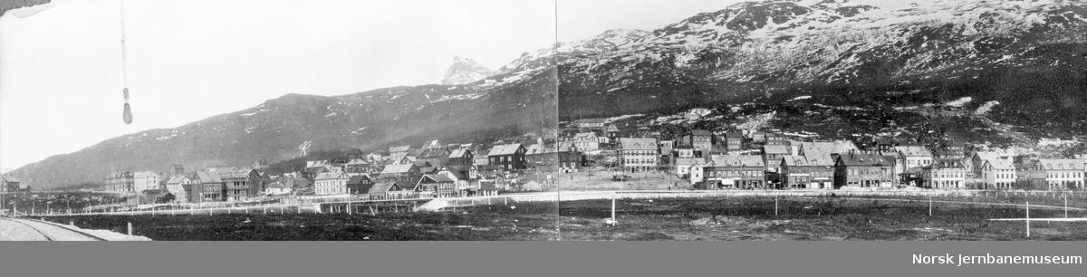 Oversiktsbilde over Narvik