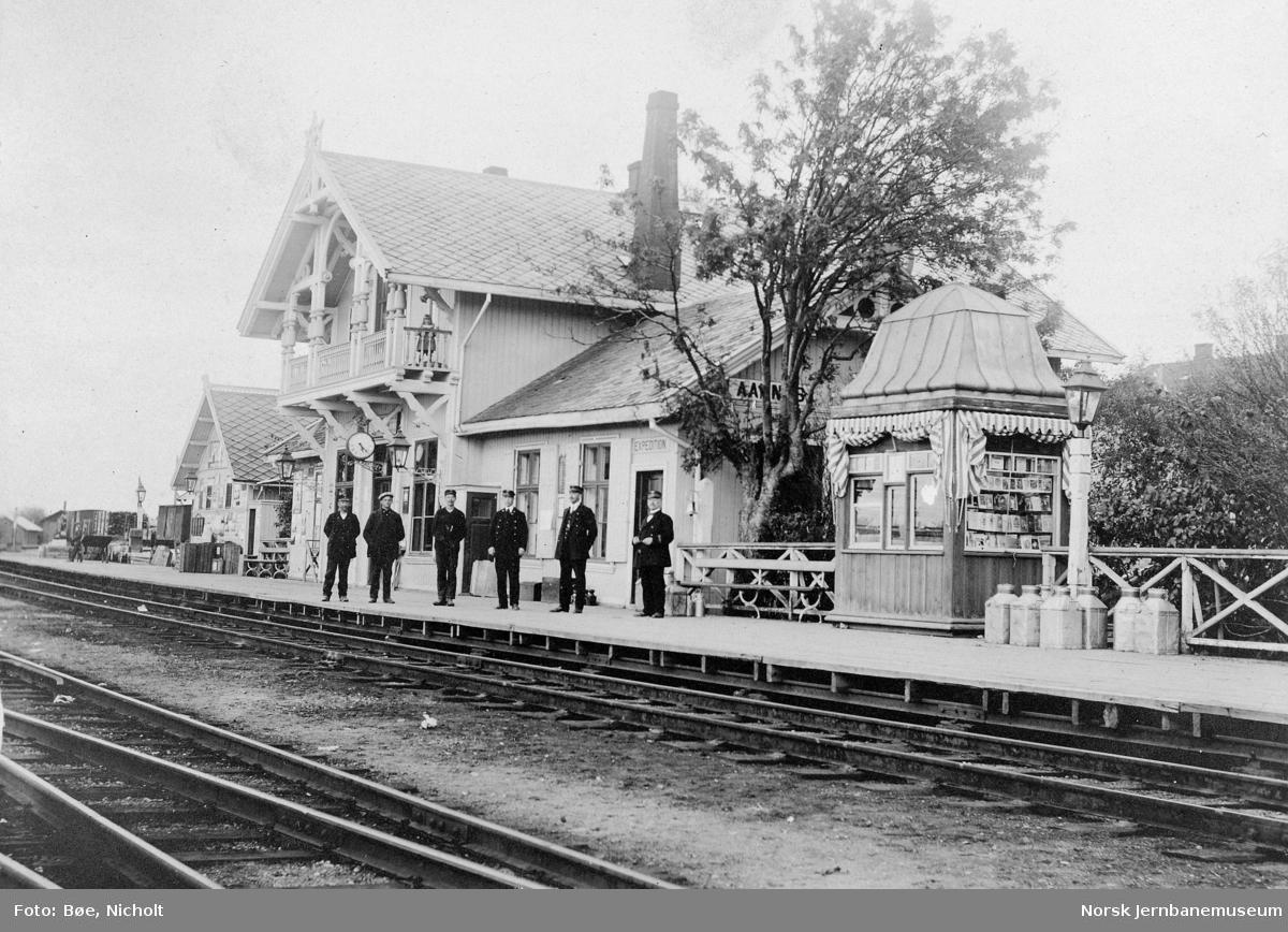 Årnes stasjonsbygning