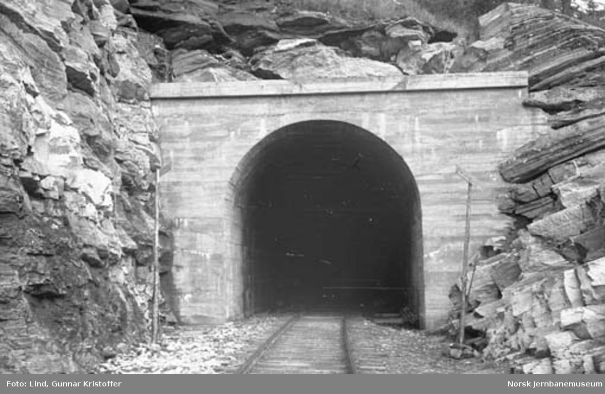 Nordlandsbaneanlegget : Storforshei tunnel nord