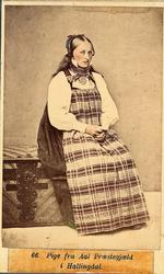 Pige fra Hallingdal, Aal Præstegjeld.