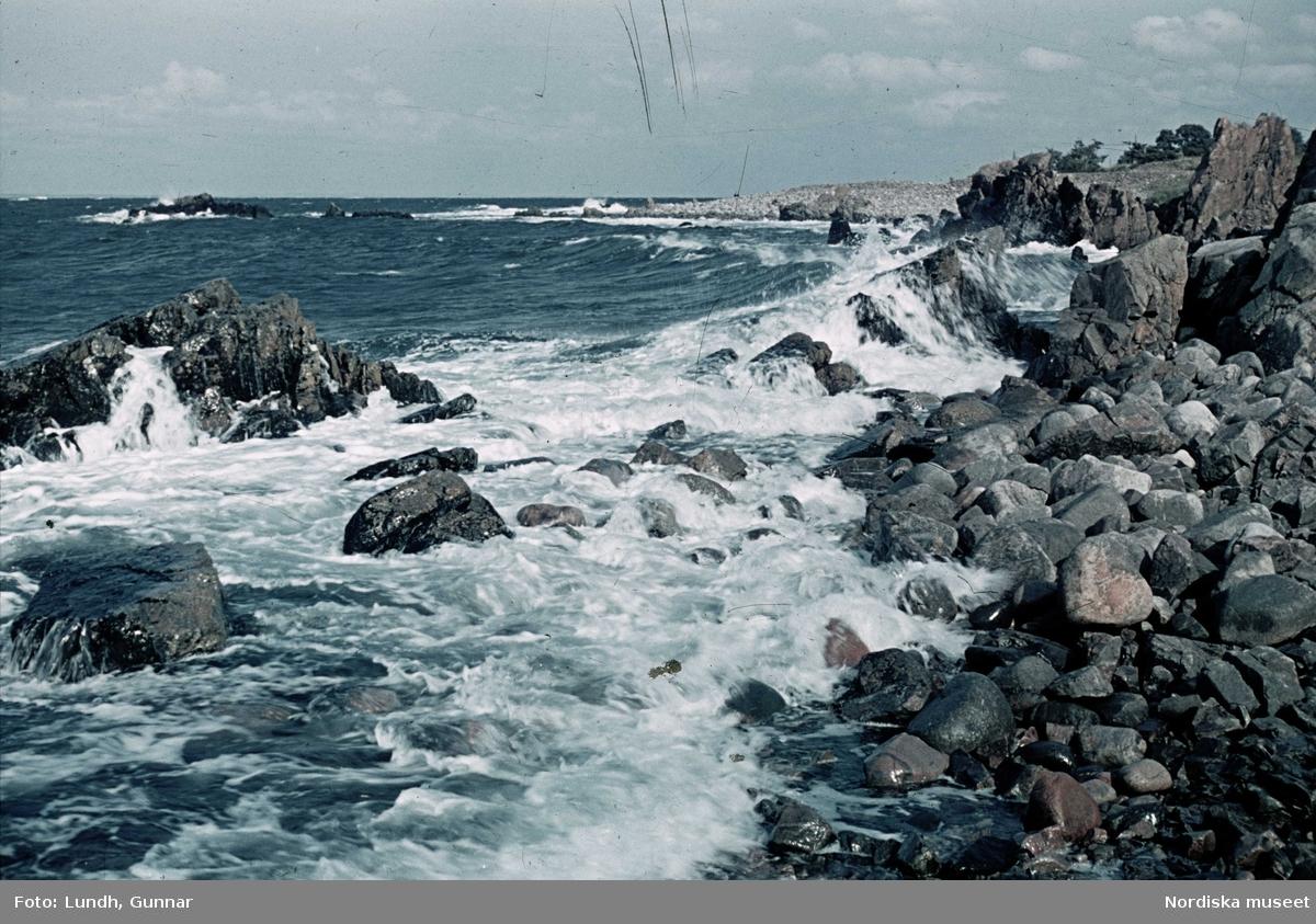 Klippor, hav