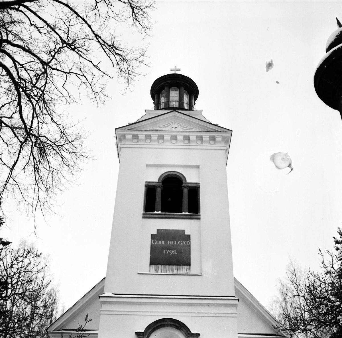 Söderfors kyrka, Söderfors, Uppland 1967