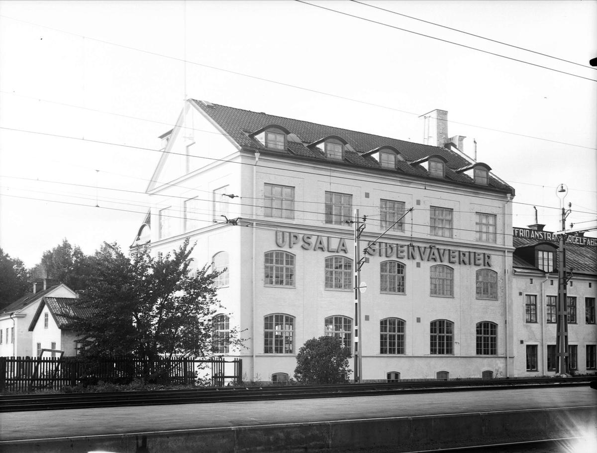 AB Upsala Sidenväverier, Kålsängsgränd, Uppsala 1936 - 1937