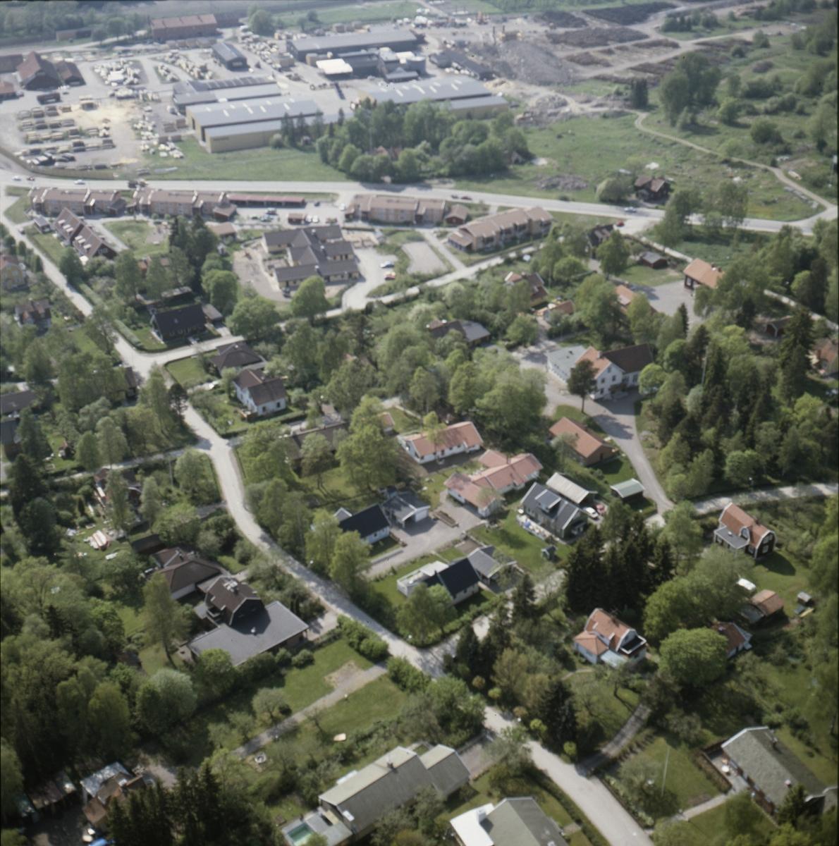 Vy över Knivsta, Knivsta socken, Uppland juni 1989