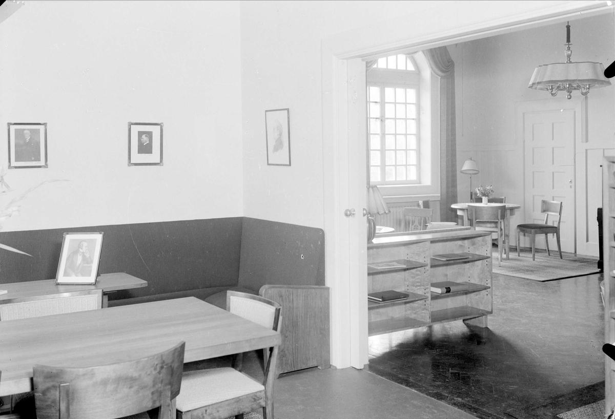 Uppsala KFUMs föreningslokal, Västra Strandgatan 7, kvarteret Rudan, Uppsala september 1937