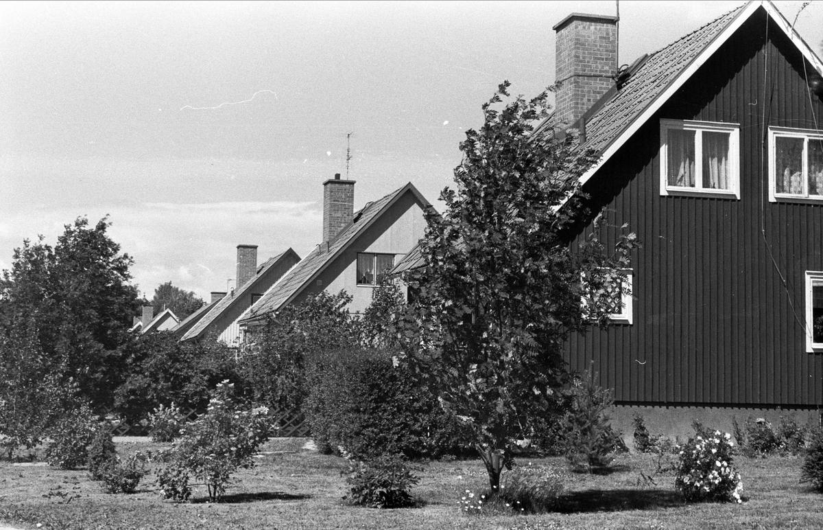 Bostadshus, Kadriljvägen, Björklinge, Björklinge socken, Uppland 1976