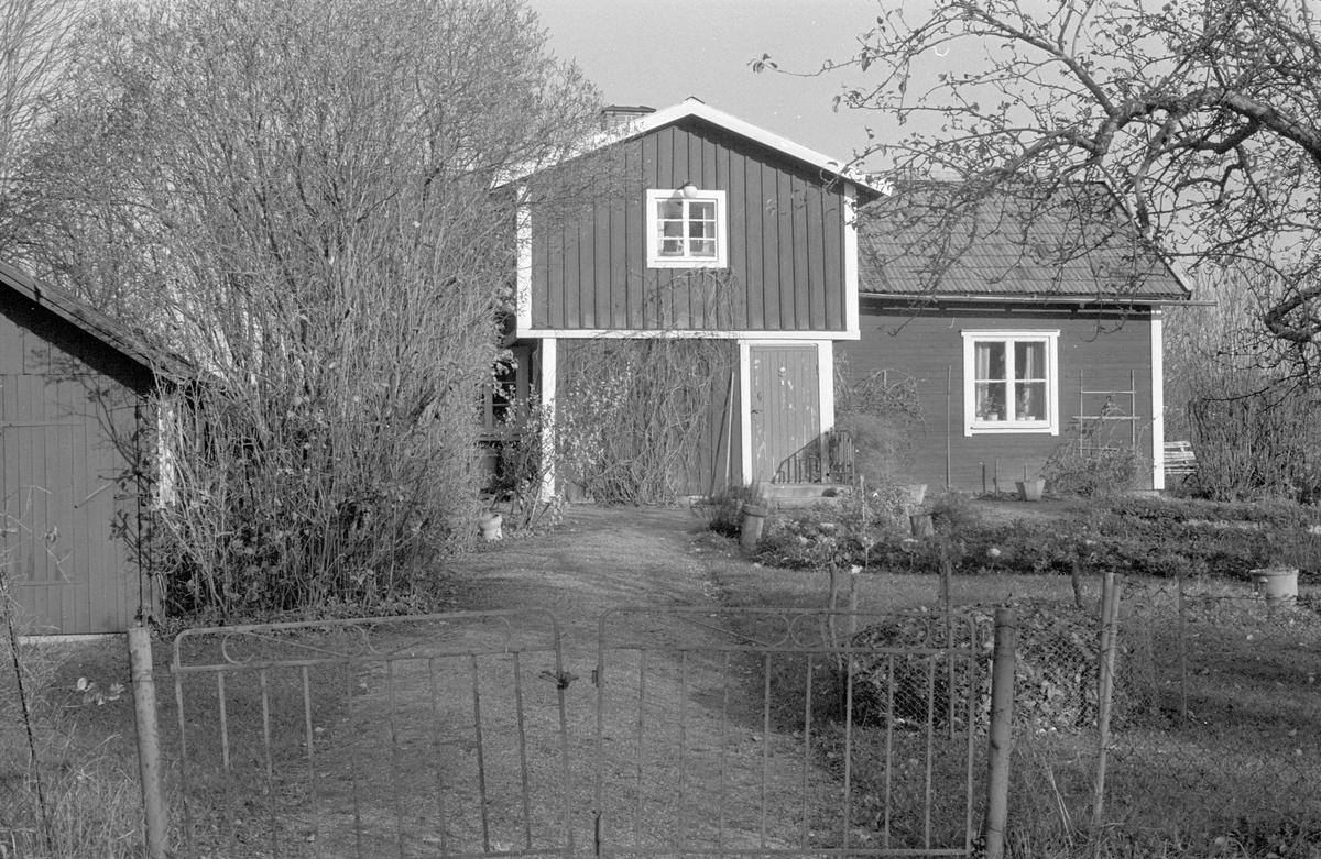 Bostadshus, Viggeby soldattorp, Viggeby, Dalby socken, Uppland 1984