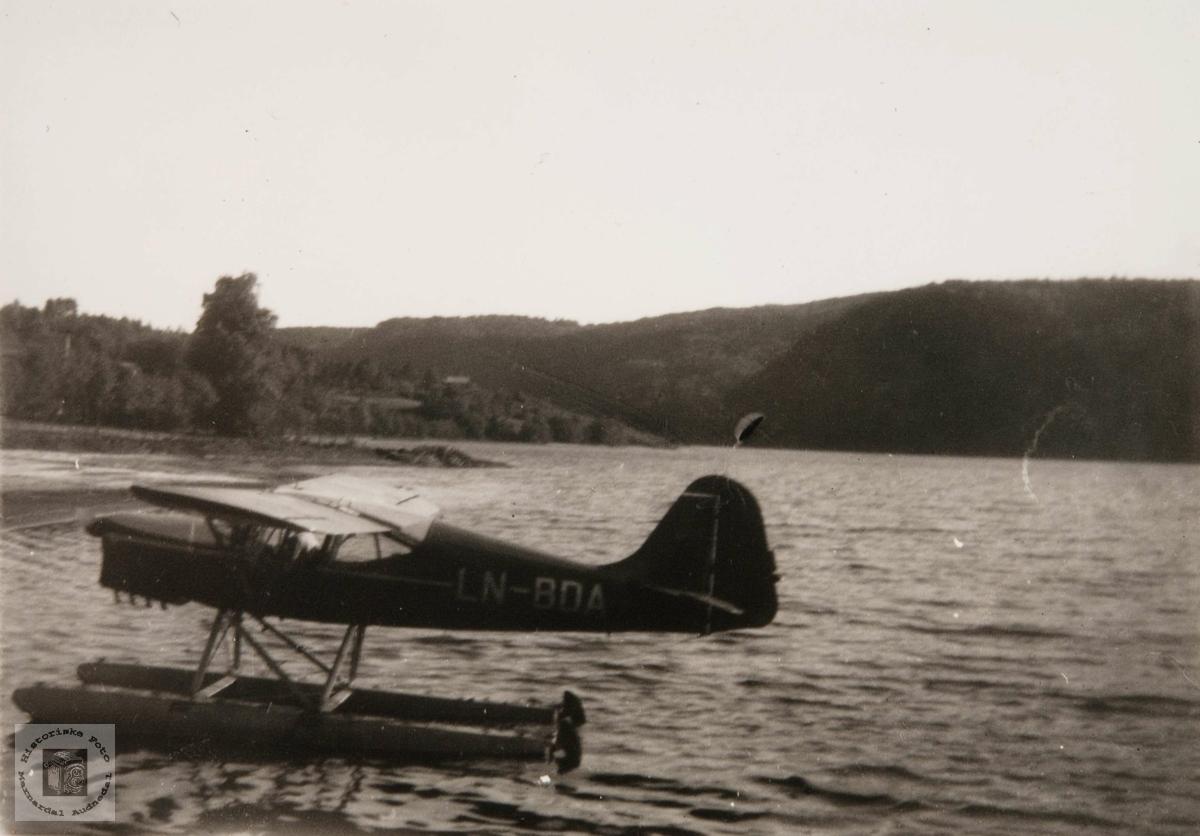 Flybesøk på Øydnevann.